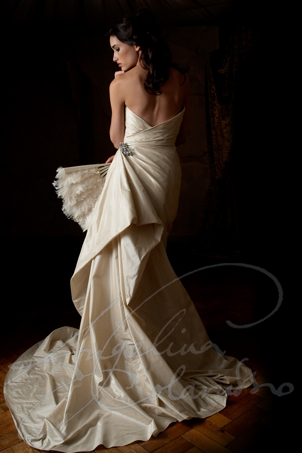 Angelina Colarusso Couture Wedding Dress Carmen