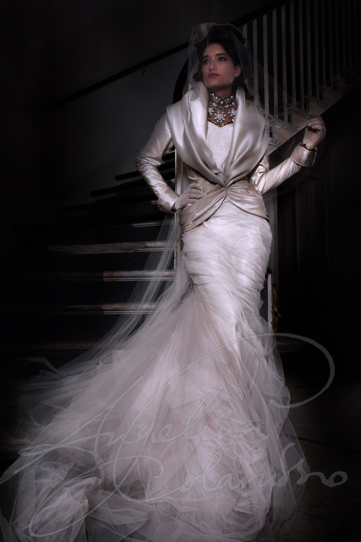 Angelina Colarusso Couture Wedding Dress Vivienne
