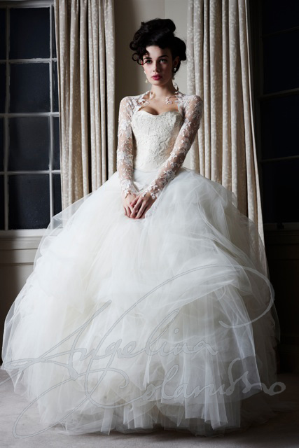 Angelina Colarusso Couture Wedding Dress Degas