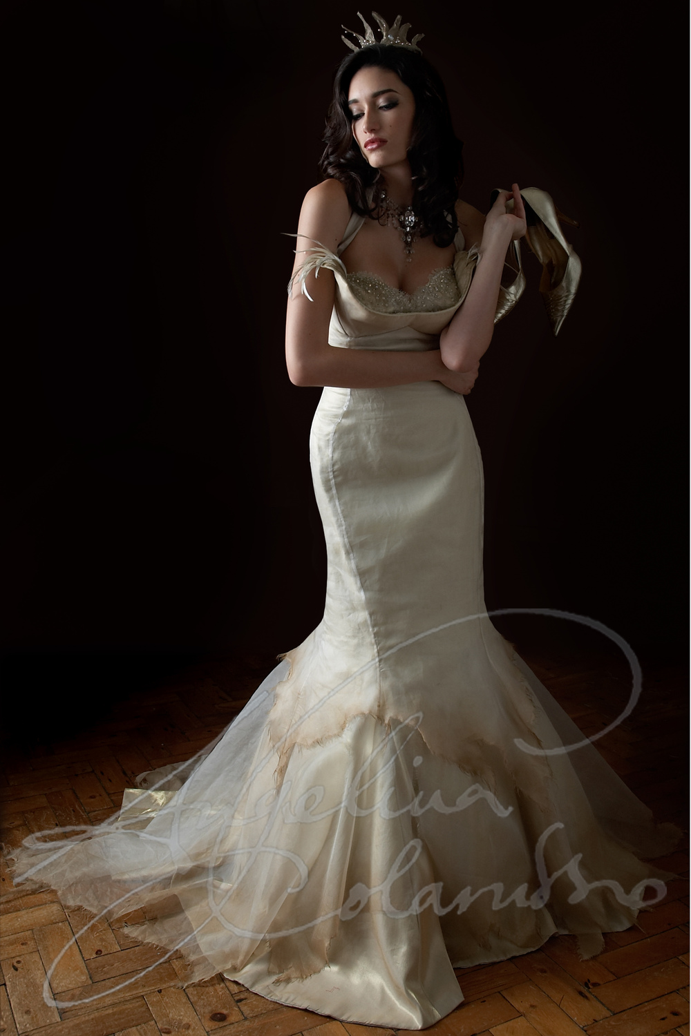 Angelina Colarusso Couture Wedding Dress Veurve