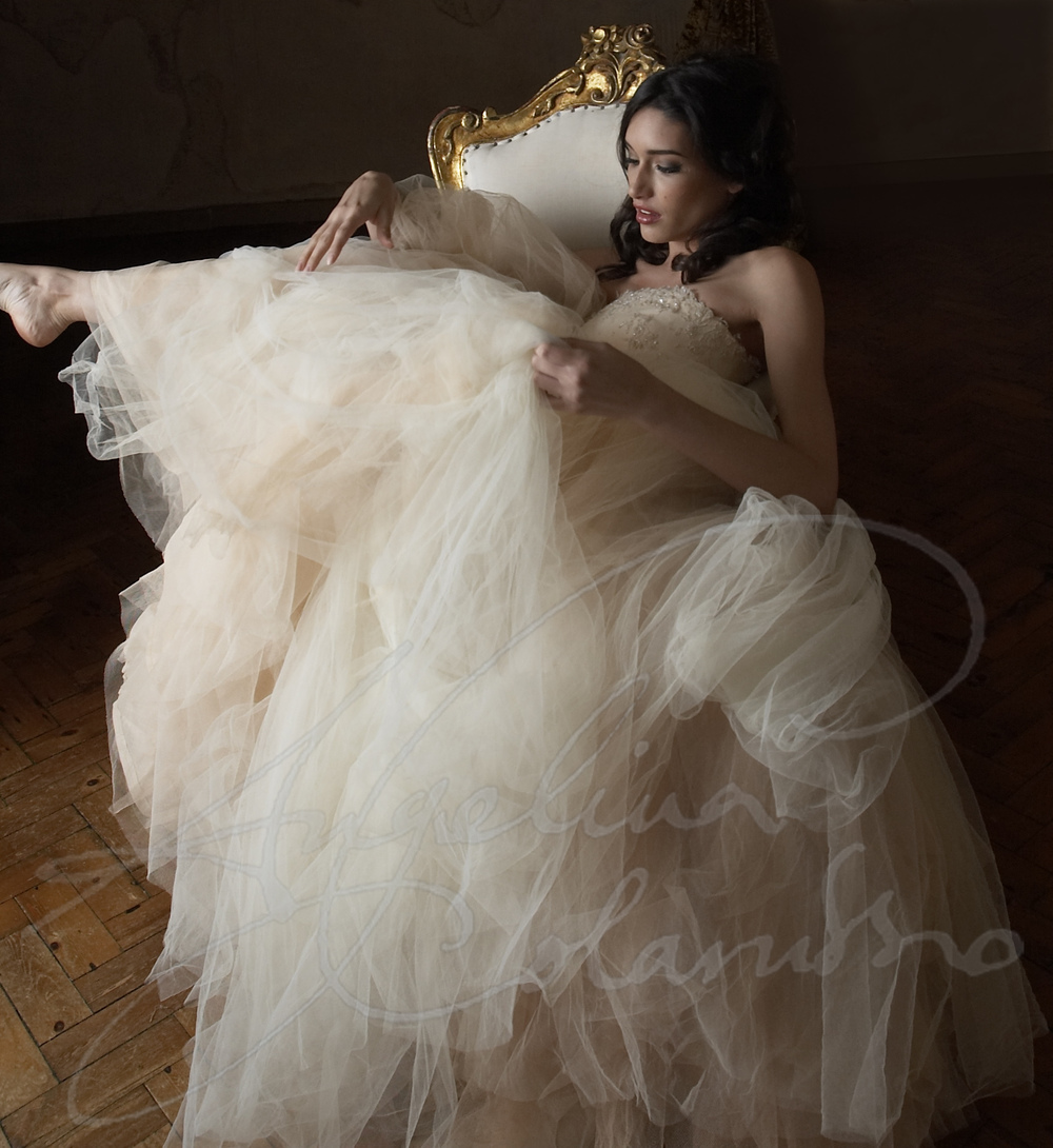 Angelina Colarusso Couture Wedding Dress Giselle