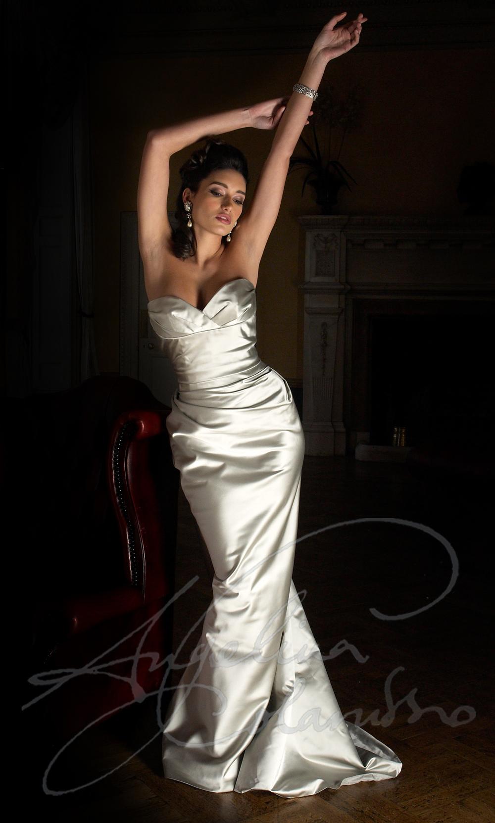 Angelina Colarusso Couture Wedding Dress La Diva