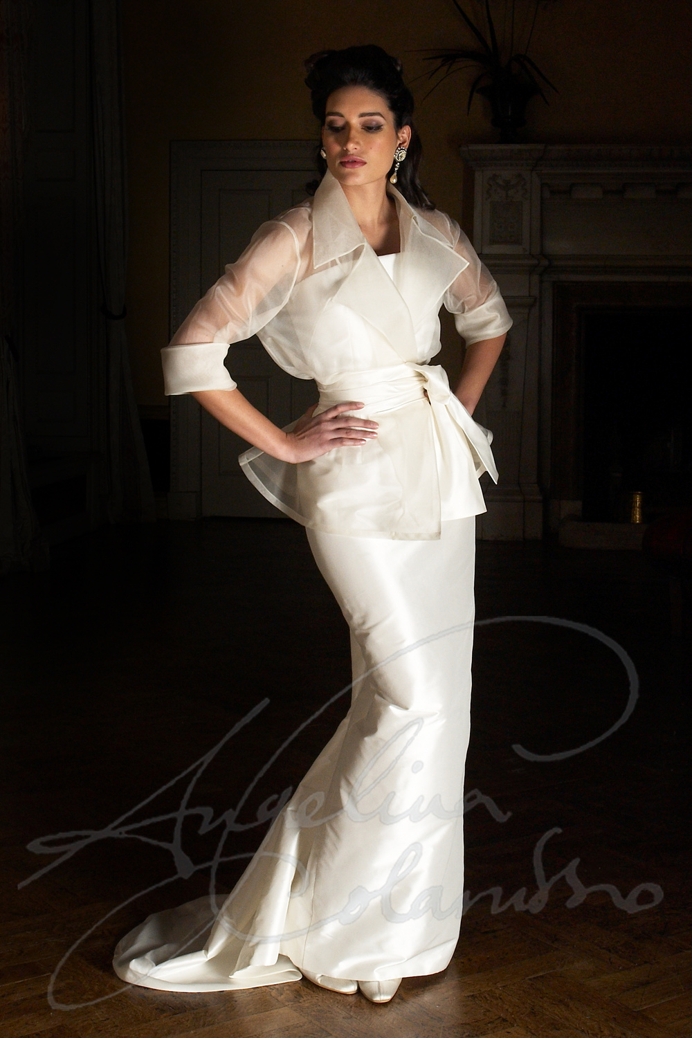 Angelina Colarusso Couture Wedding Dress Garbo