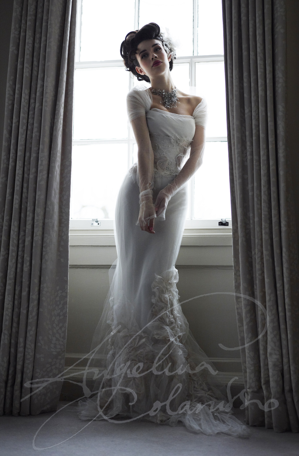 Angelina Colarusso Couture Wedding Dress Muicia