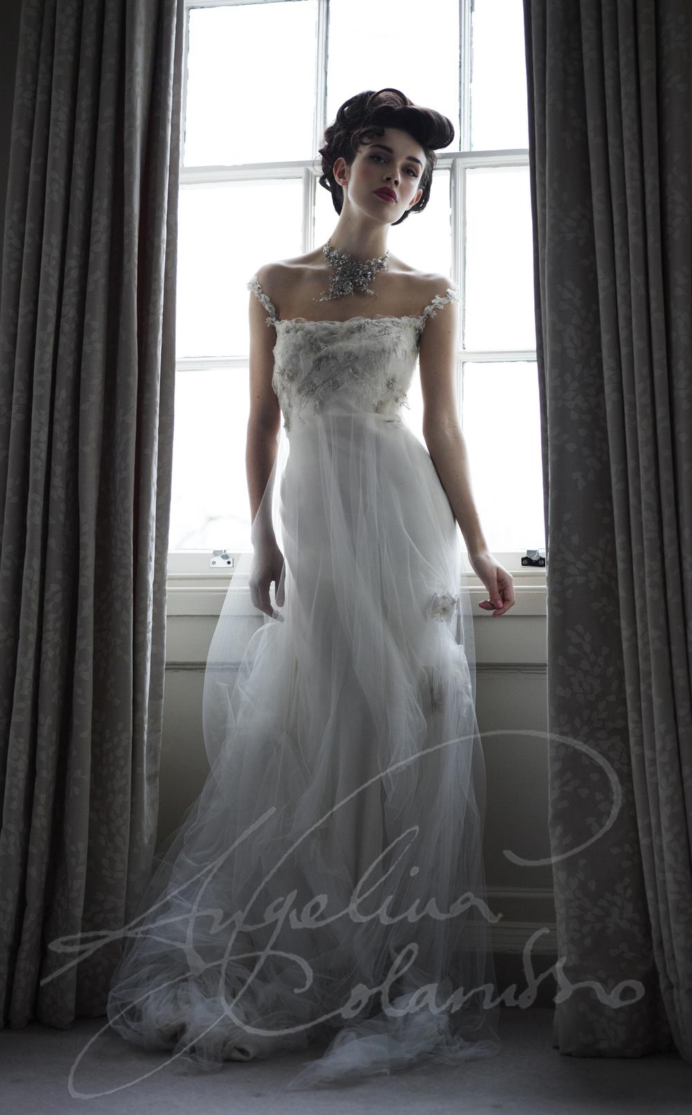 Angelina Colarusso Couture Wedding Dress Bijou