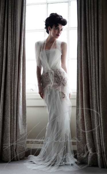 Angelina Colarusso Couture Wedding Dress Fortuny