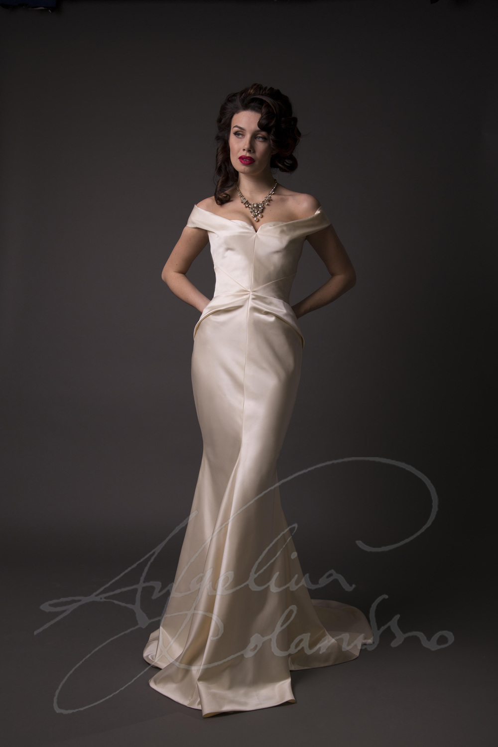 Angelina Colarusso Couture Wedding Dress Avedon