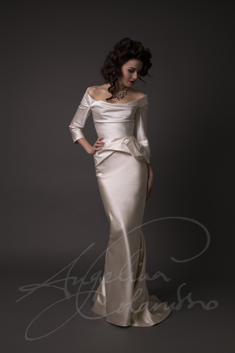 Angelina Colarusso Couture Wedding Dress Lydia