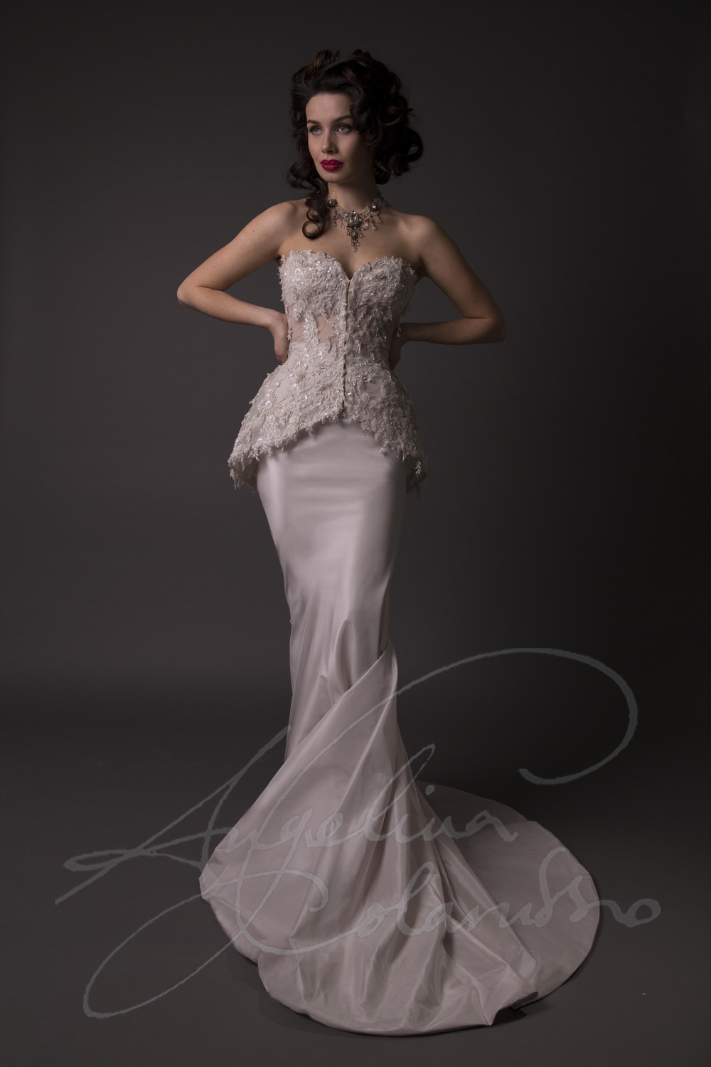 Angelina Colarusso Couture Wedding Dress Julienne
