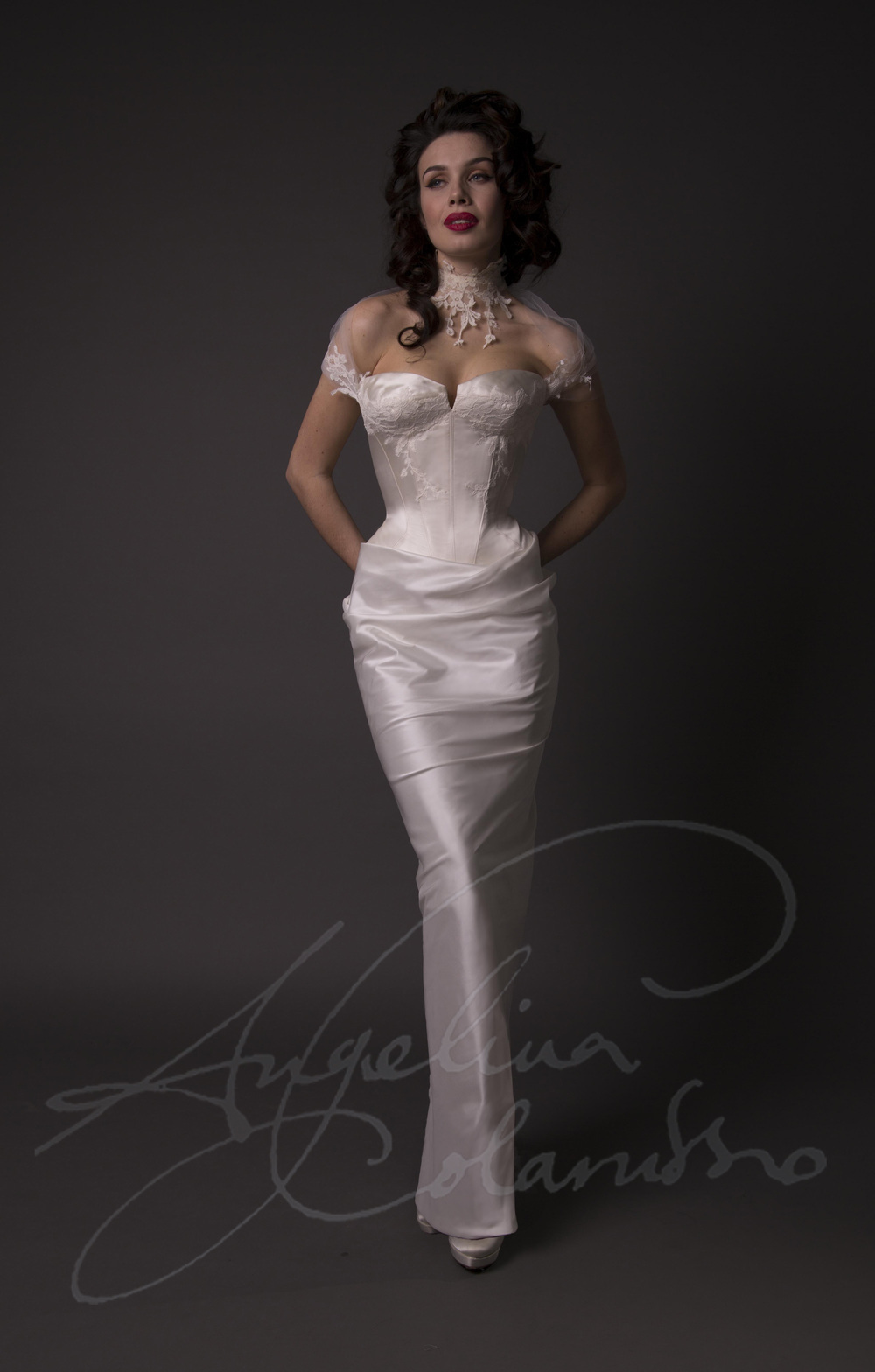 Angelina Colarusso Couture Wedding Dress Claudette