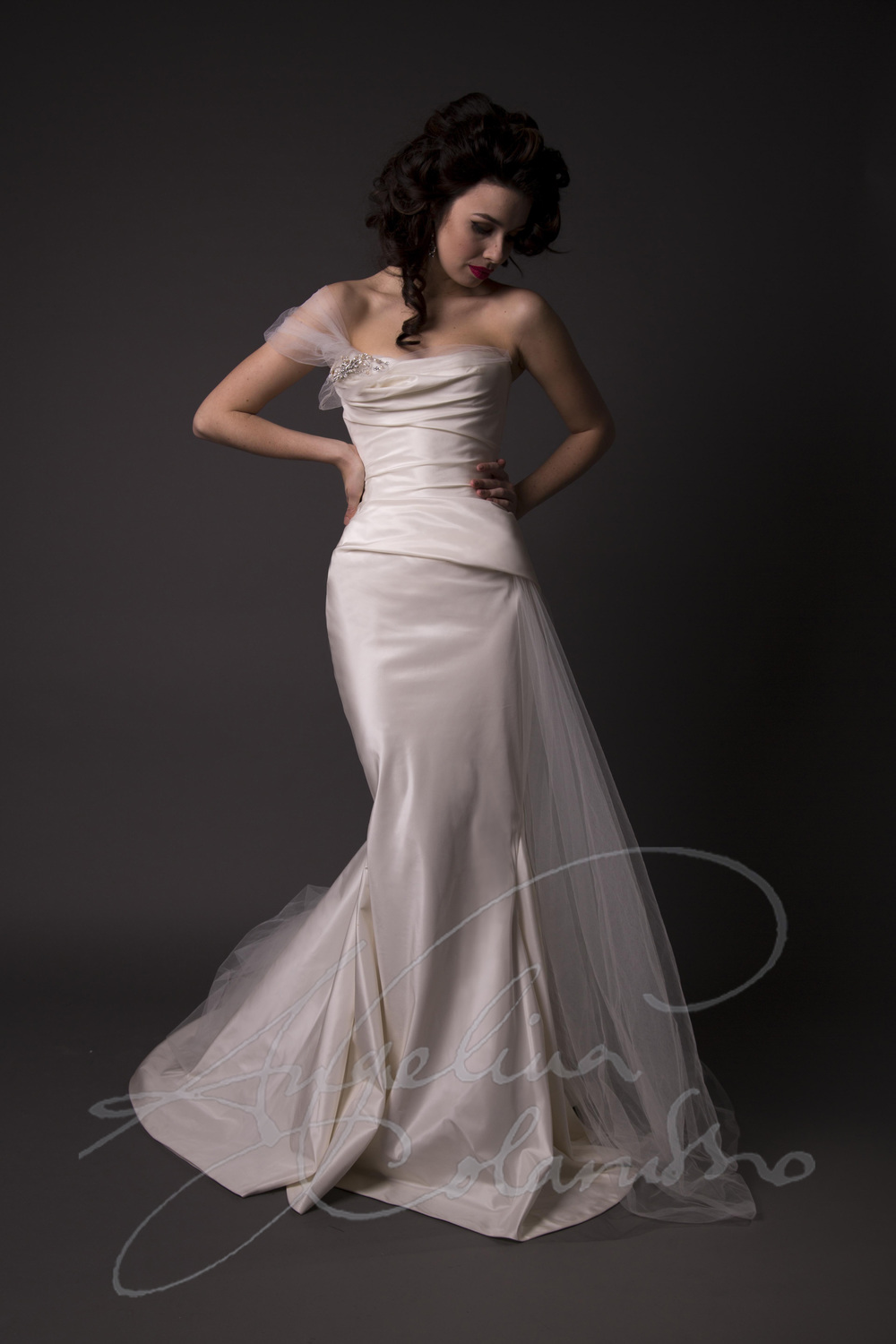 Angelina Colarusso Couture Wedding Dress Moreau