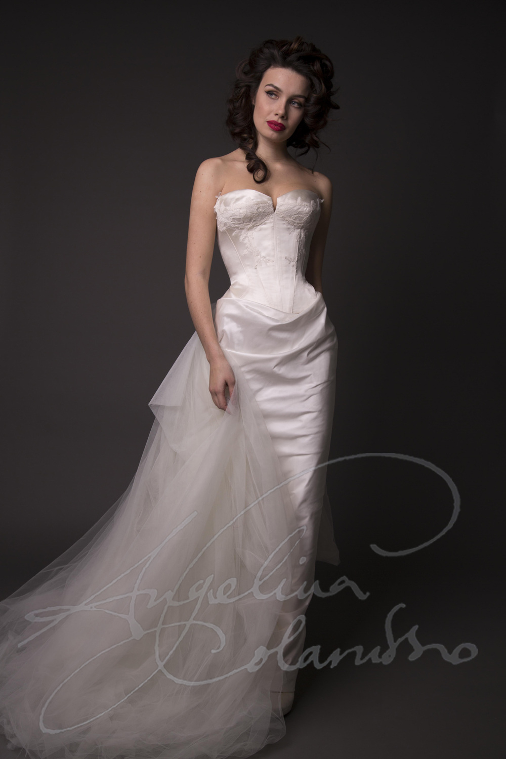Angelina Colarusso Couture Wedding Dress Rousseau