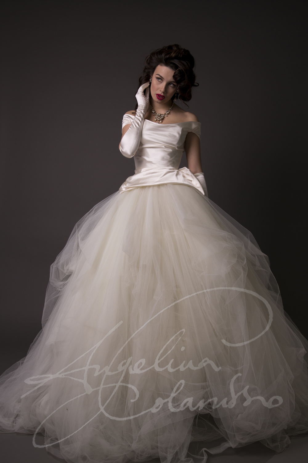 Angelina Colarusso Couture Wedding Dress Nadia