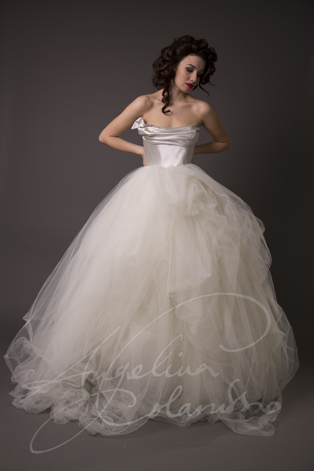 Angelina Colarusso Couture Wedding Dress Arabella