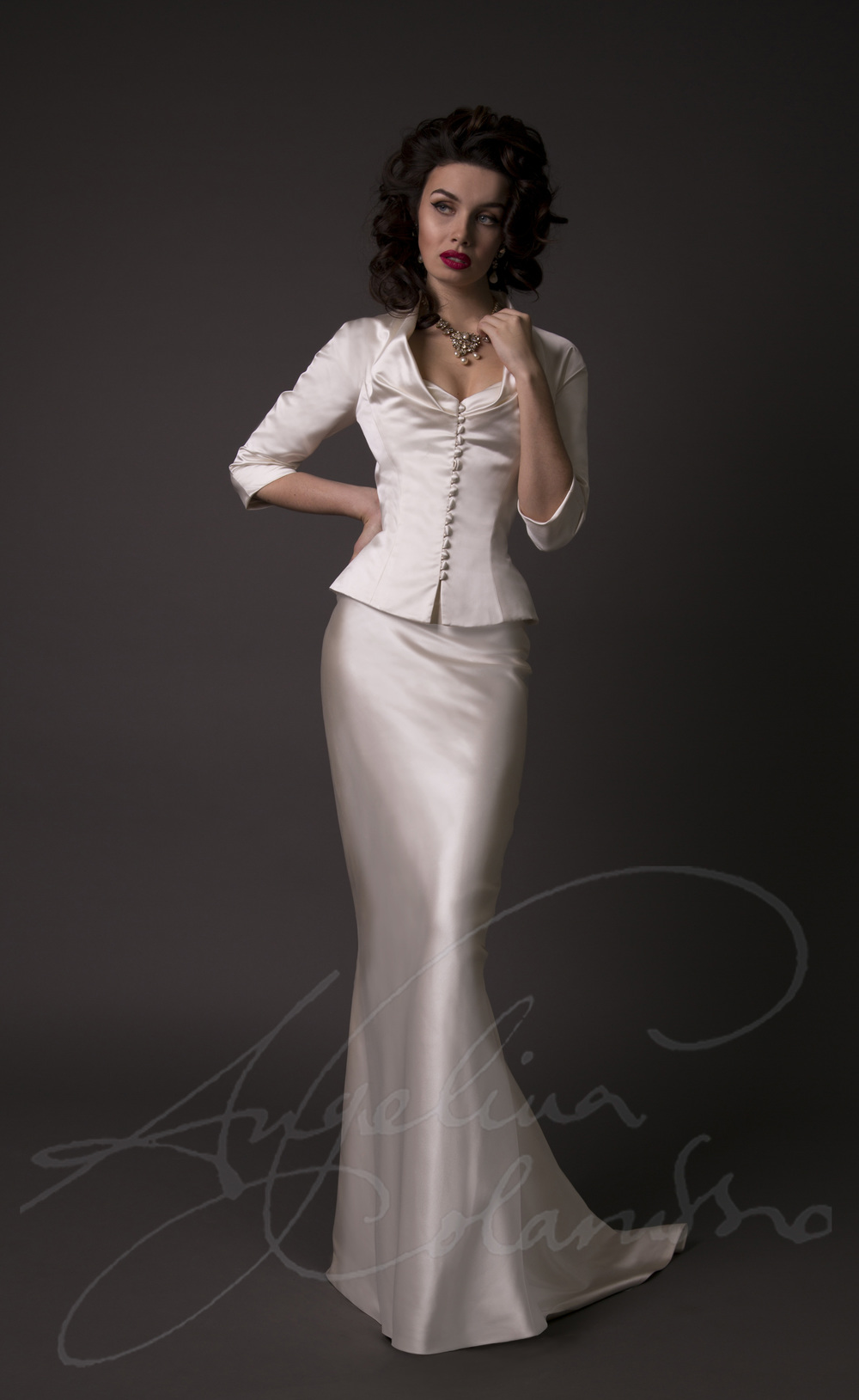 Angelina Colarusso Couture Wedding Dress Cristianne