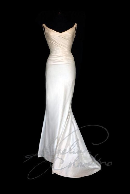 Dolce Vita Style Wedding Dress