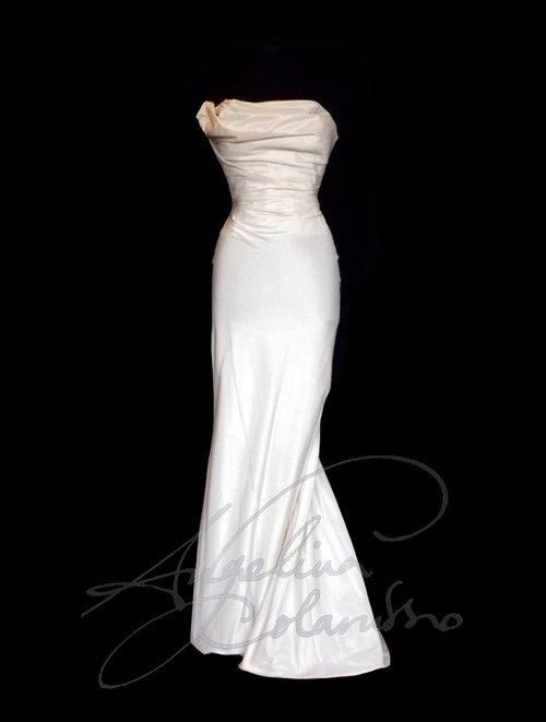 Opera Style Wedding Dress