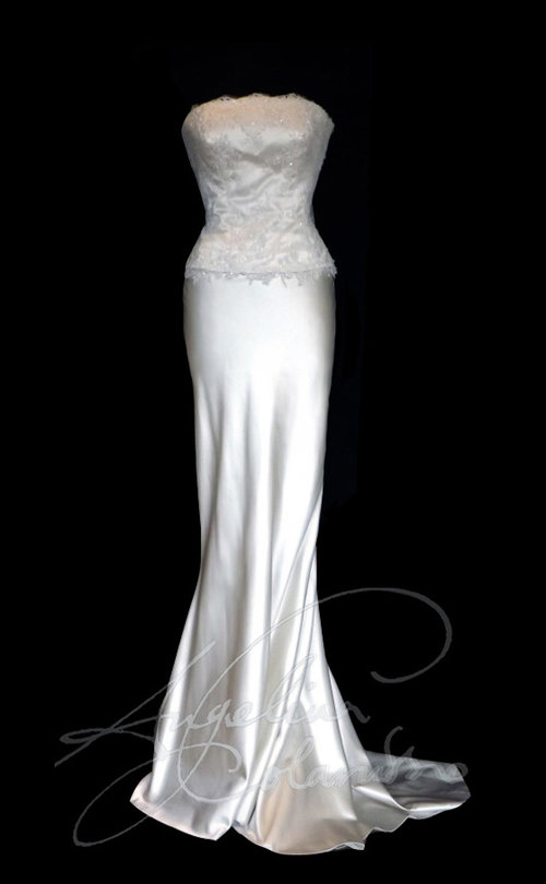 Fishtail Style Wedding Dress
