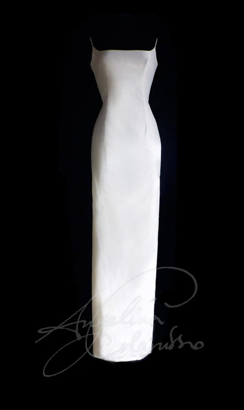 Slim Fitting Wedding Dress