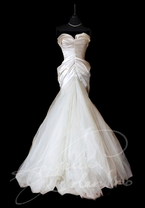 Duchesse Satin Wedding Dress