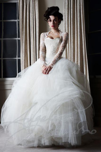Ava wedding dress angelina colarusso