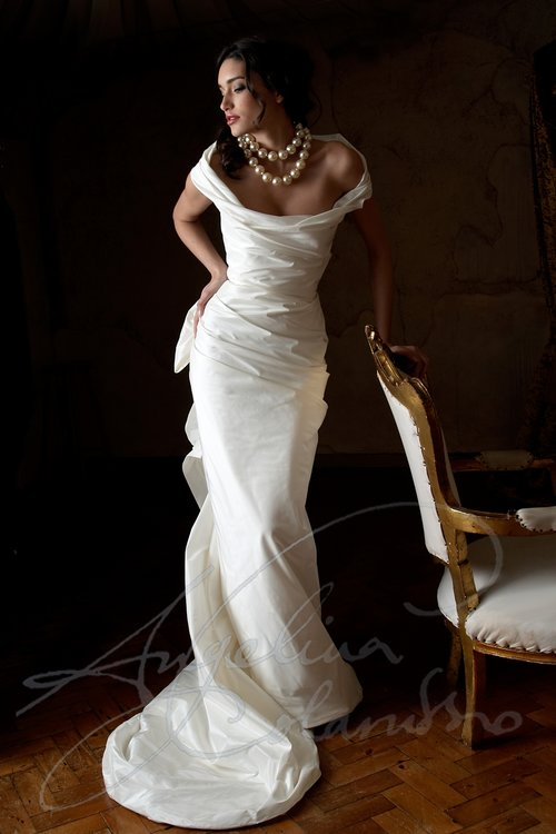 Wedding Dresses For Mature Brides ANGELINA COLARUSSO BRIDAL COUTURE