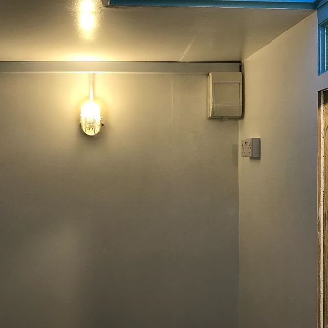 Nice job today installing some lights and sockets in a #garageconversion #conduit #trunking #sockets #electrician #installer #tooting #tootingcommon