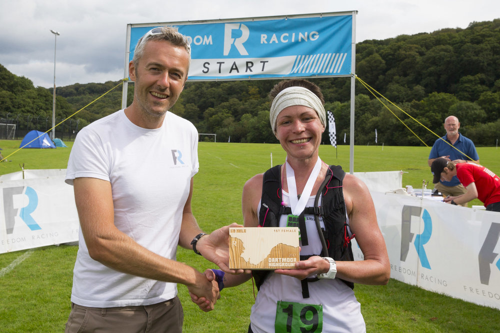 CR holder of the Dartmoor 50