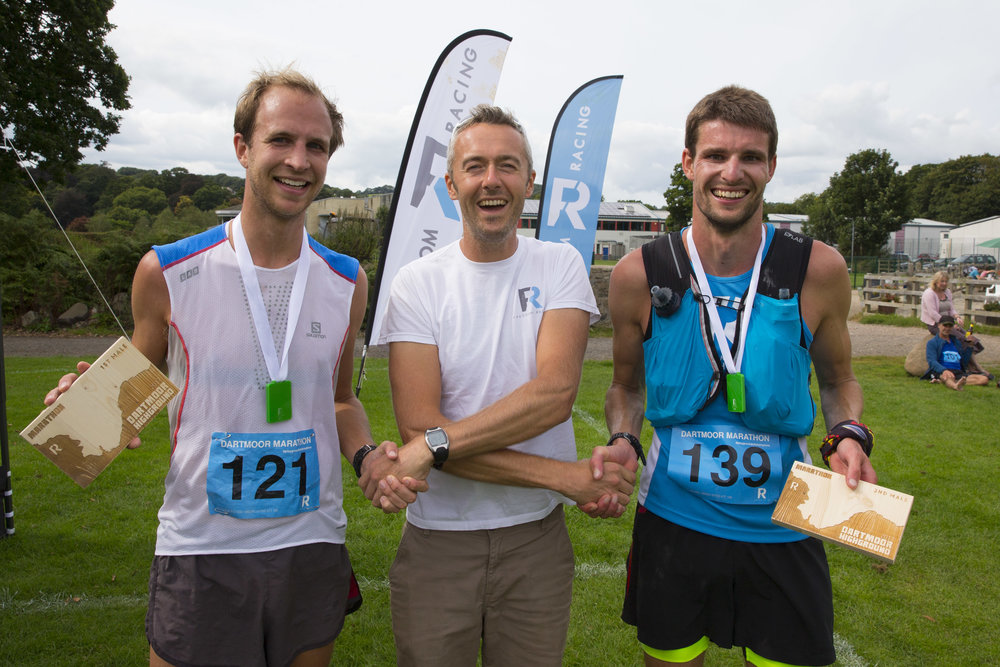 Dartmoor Marathon winners