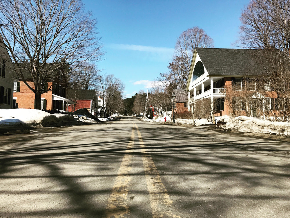 Grafton, Vermont Town Center/ Picture taken by B. Stockwell