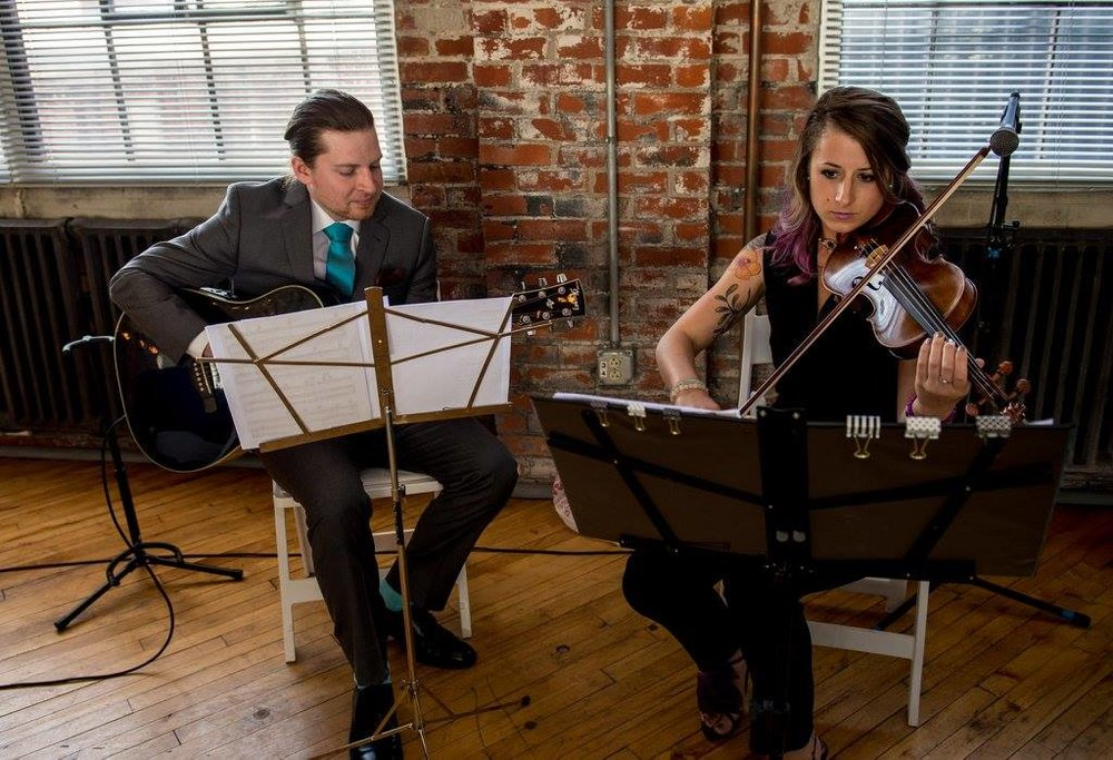 Guitarist/Violin Duo for Wedding Ceremony,  Brian Sensor & Brittany Stockwell