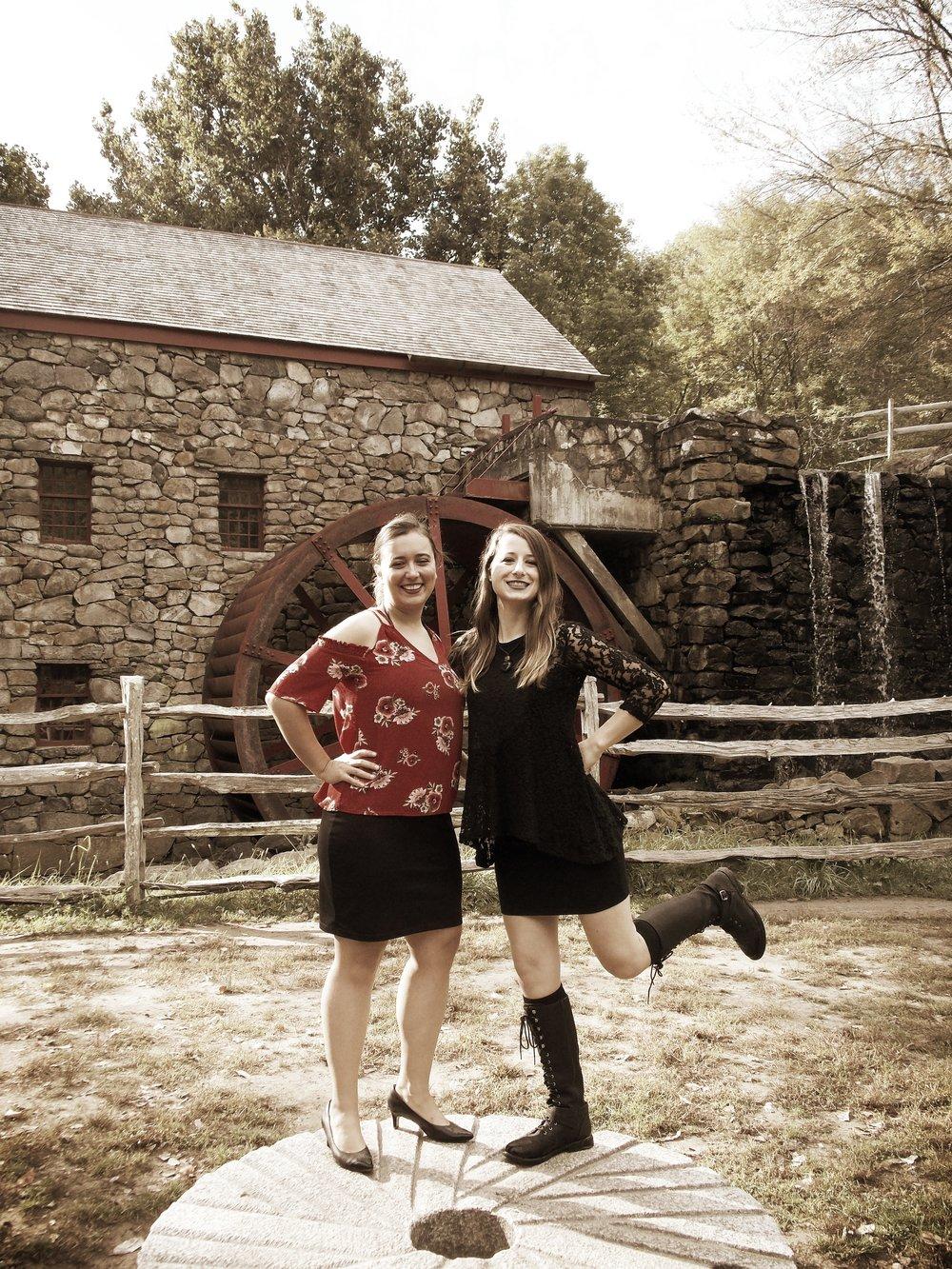 L-R: Sylvia DiCrescentis & Brittany Stockwell of Indigo Heart & the BVQ