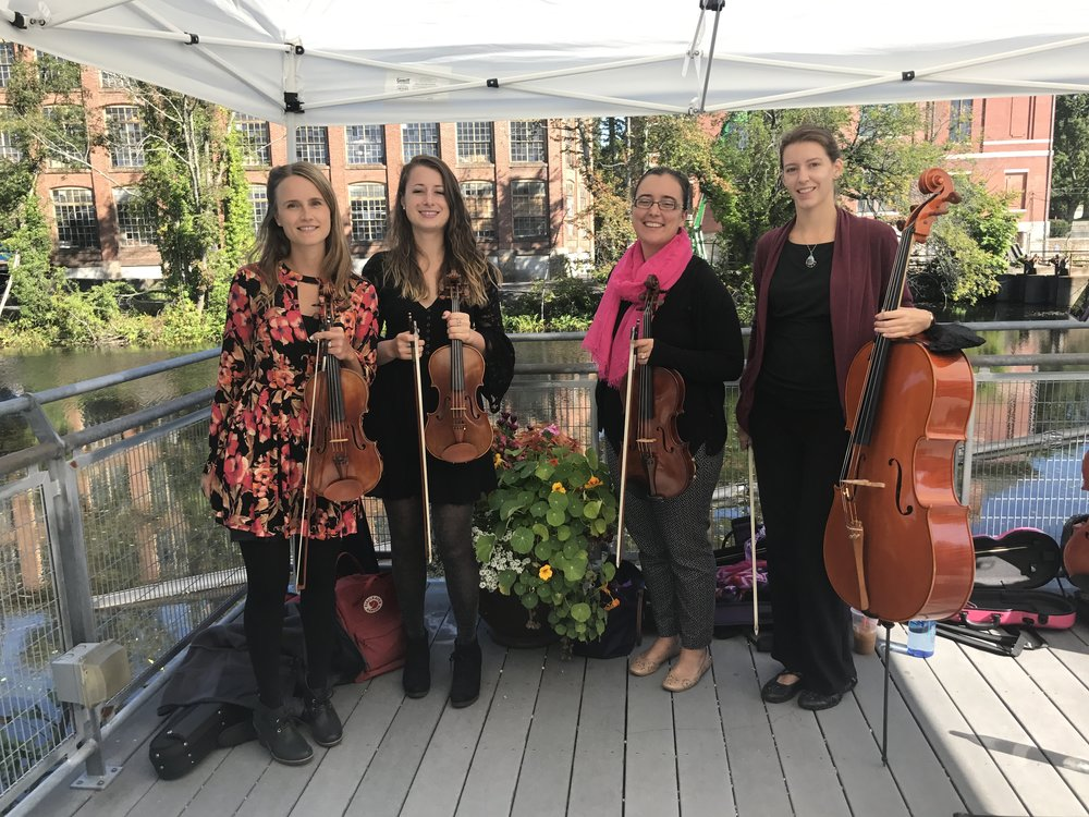 After our performance at the Arts & Music Makers Festival at ValleyCAST! in Whitinsville!