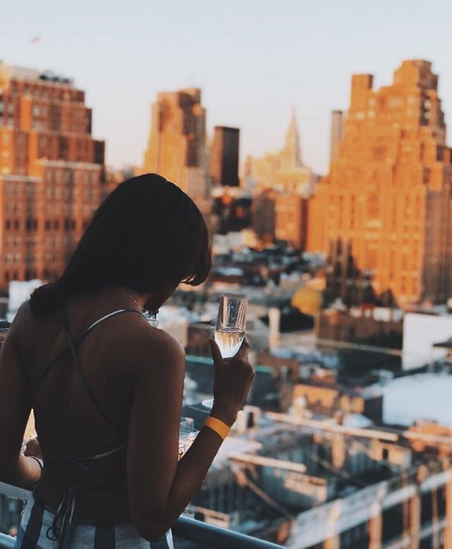 Monday night done right. See ya for sunset 🌆 c/o @lynhansby