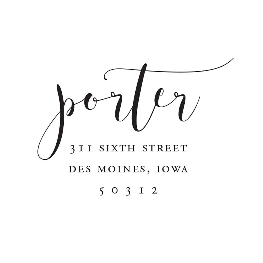 STAMP NAME: PORTER