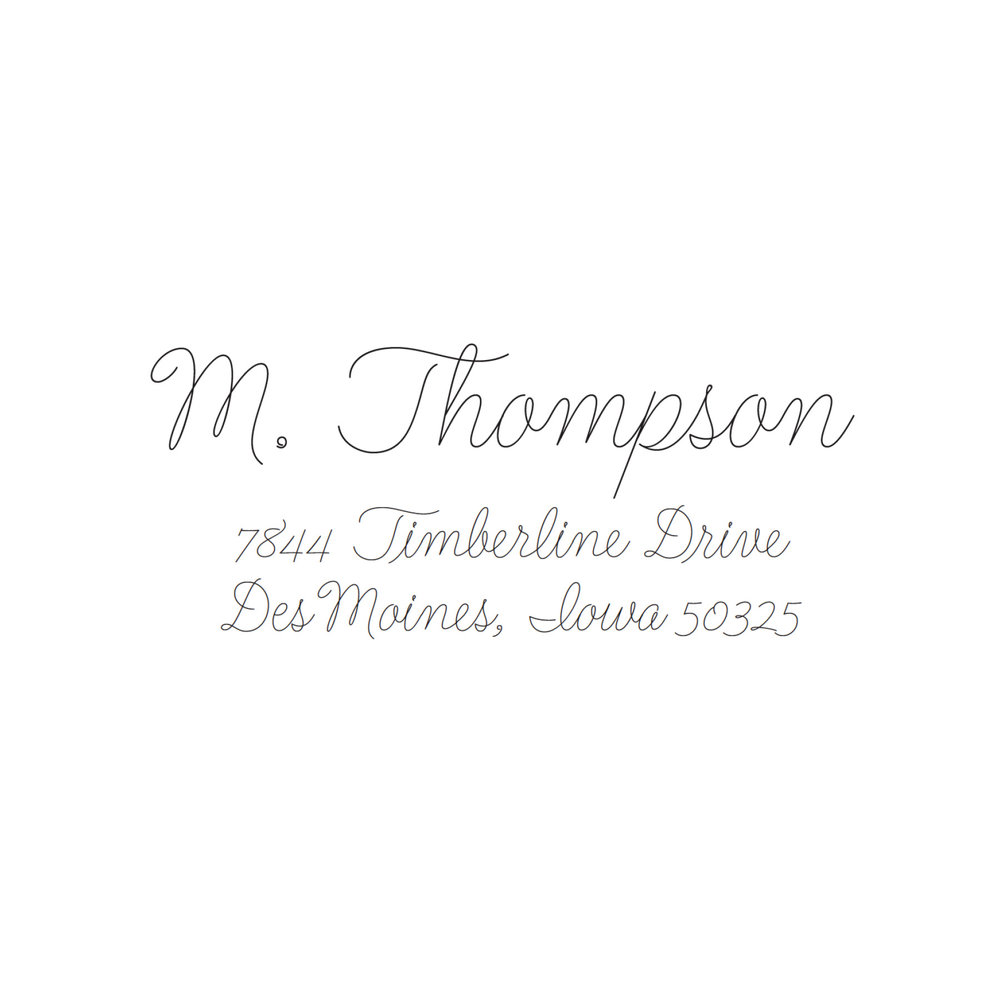 STAMP NAME: THOMPSON
