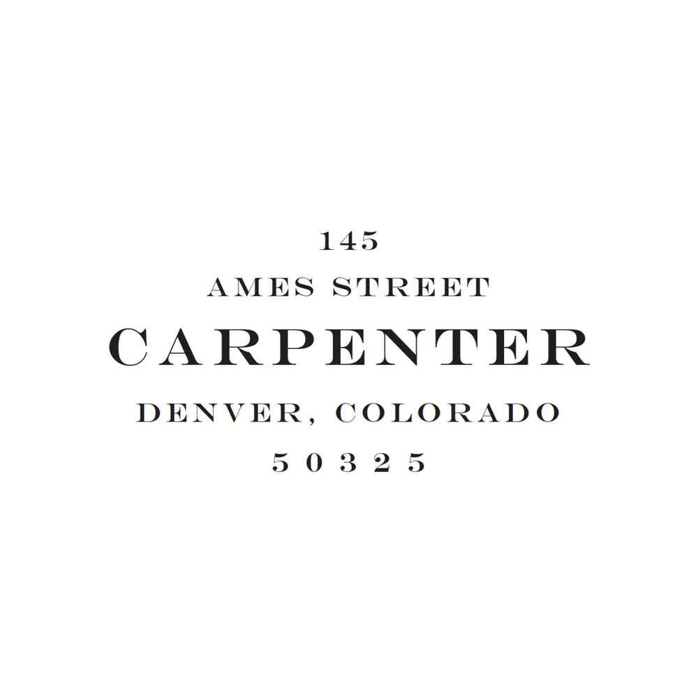 STAMP NAME: CARPENTER