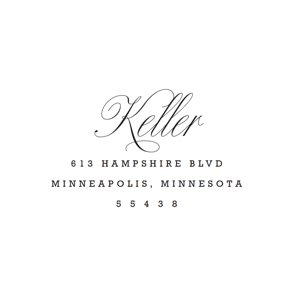 STAMP NAME: KELLER