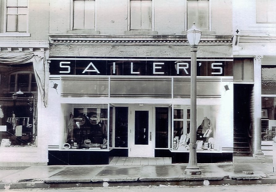 Sailer's Mens Shop located at 229 S. Court pre 1949. .jpg