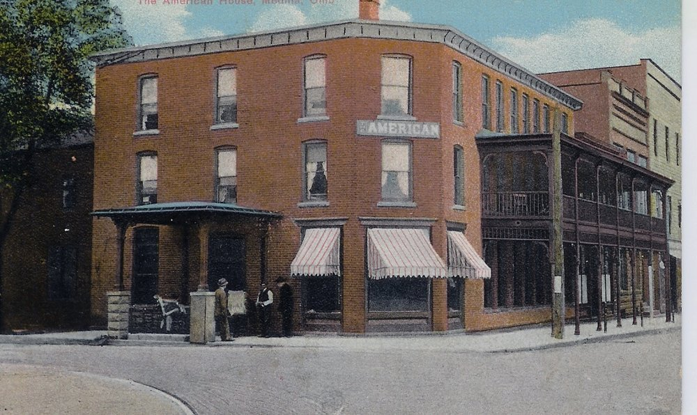 Medina, American Hotel, c. 1900.jpg
