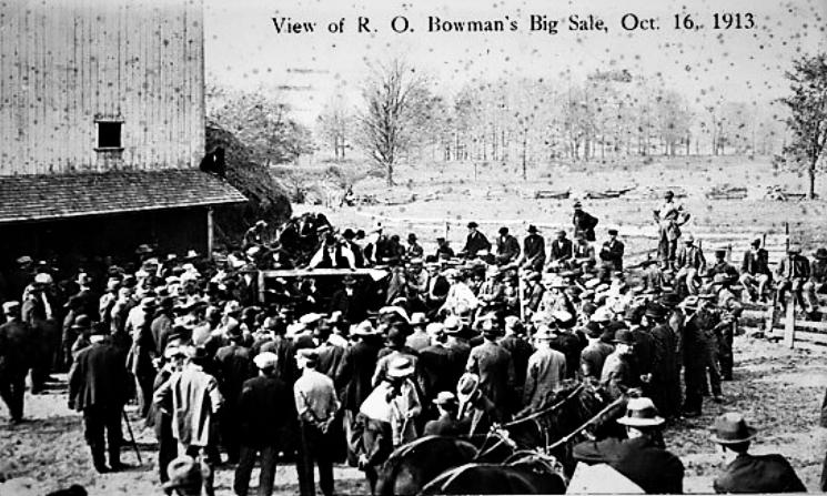 R. O. Bowman Stock Sale 1913.jpg