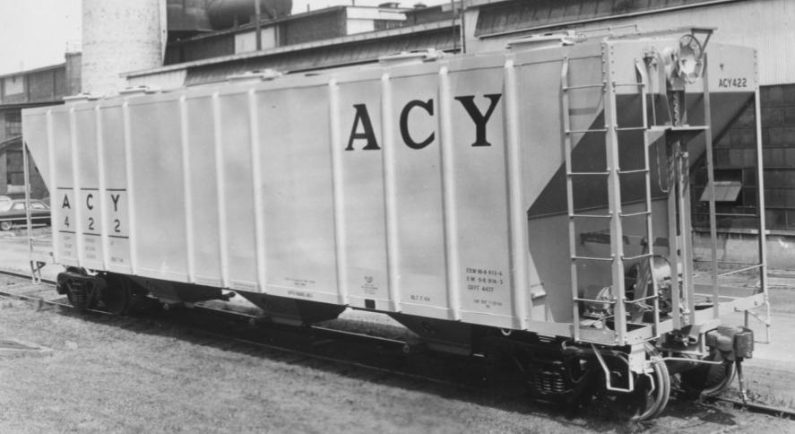 "AC&Y first twenty ""Jumbo"" covered hoppers,.jpg"