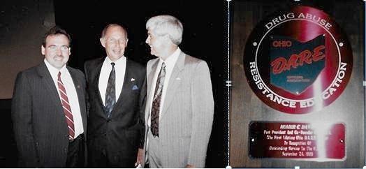 Ptl. Scott Thomas, Chief Darrel Gates, L.A.P.D., Chief H. C. Davis Jr .