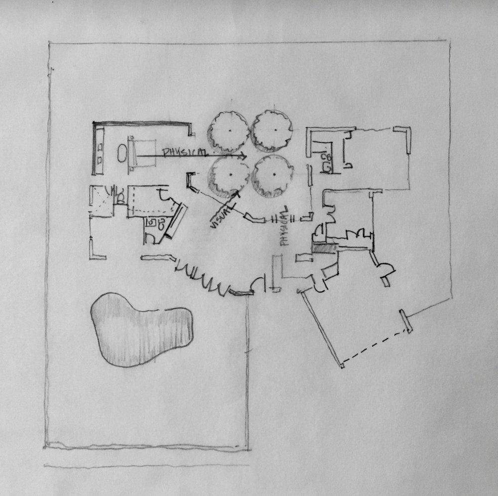 Beachwood Cabana Sketch