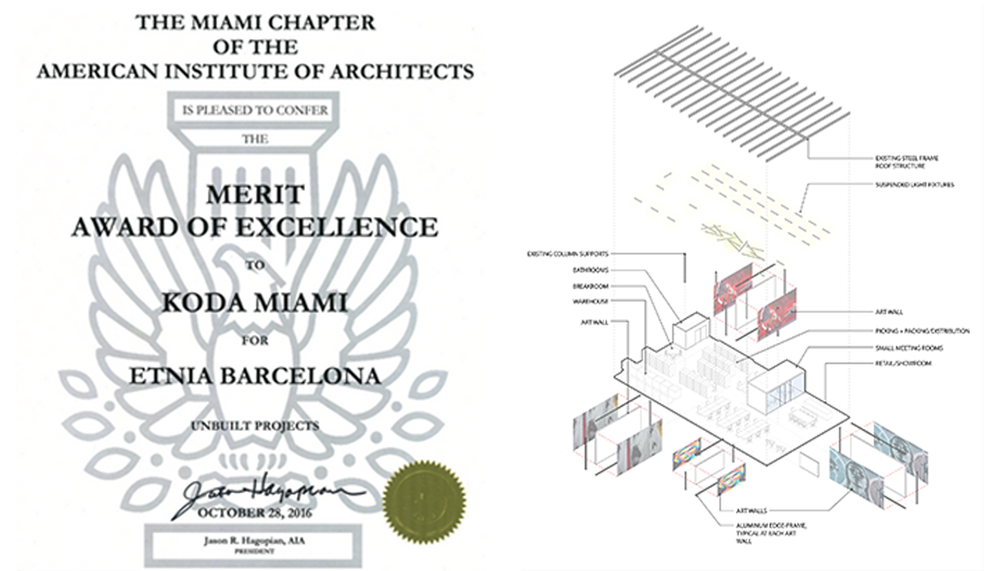 aia design award for an unbuilt project