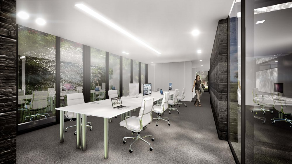 Aviation Design Center Modern Office Interior