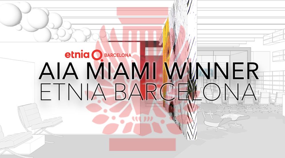 2016 AIA Miami Merit of Excellence - Etnia Barcelona Unbuilt Project