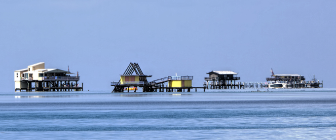 Stiltsville- Biscayne Bay, Miami