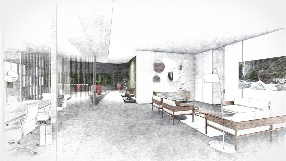 Fort Lauderdale Armazem Modern Showroom