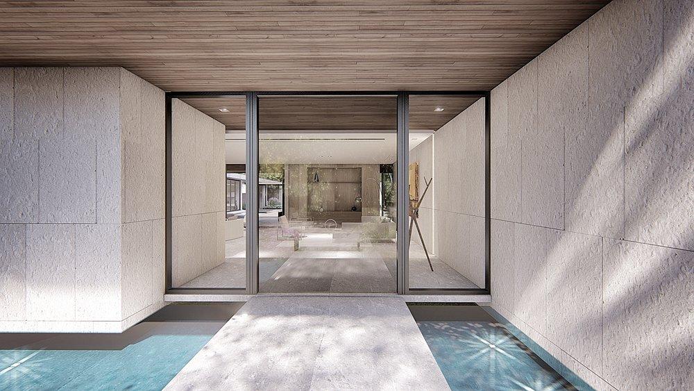 Contemporary Coconut Grove Residence by KoDA